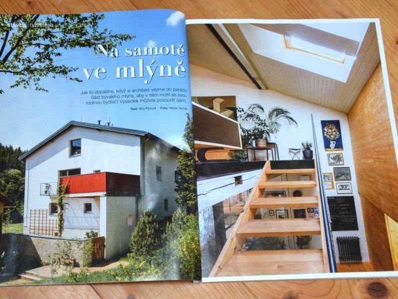 Publikace našeho mlýna v časopisu Dům a zahrada