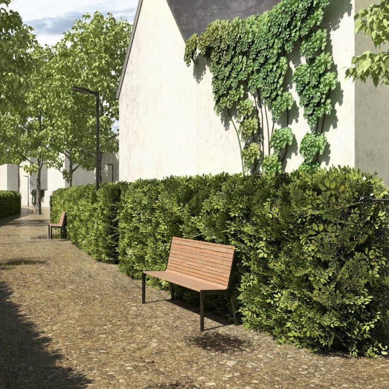 New development in Chýně