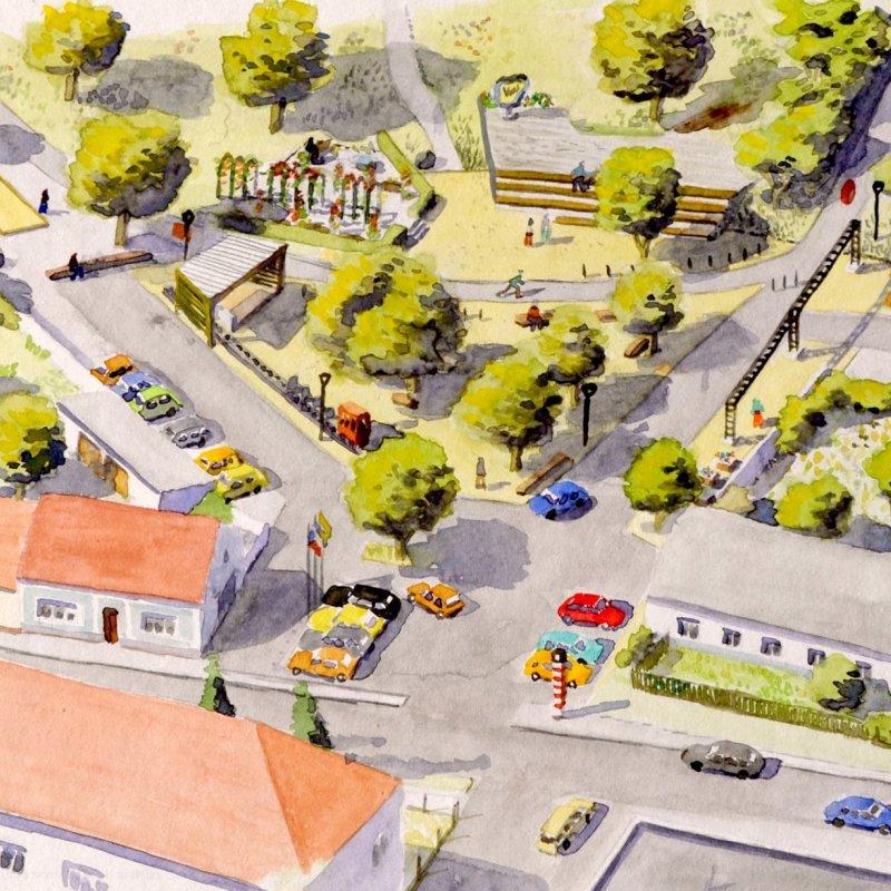 Nové náměstí v Břasech