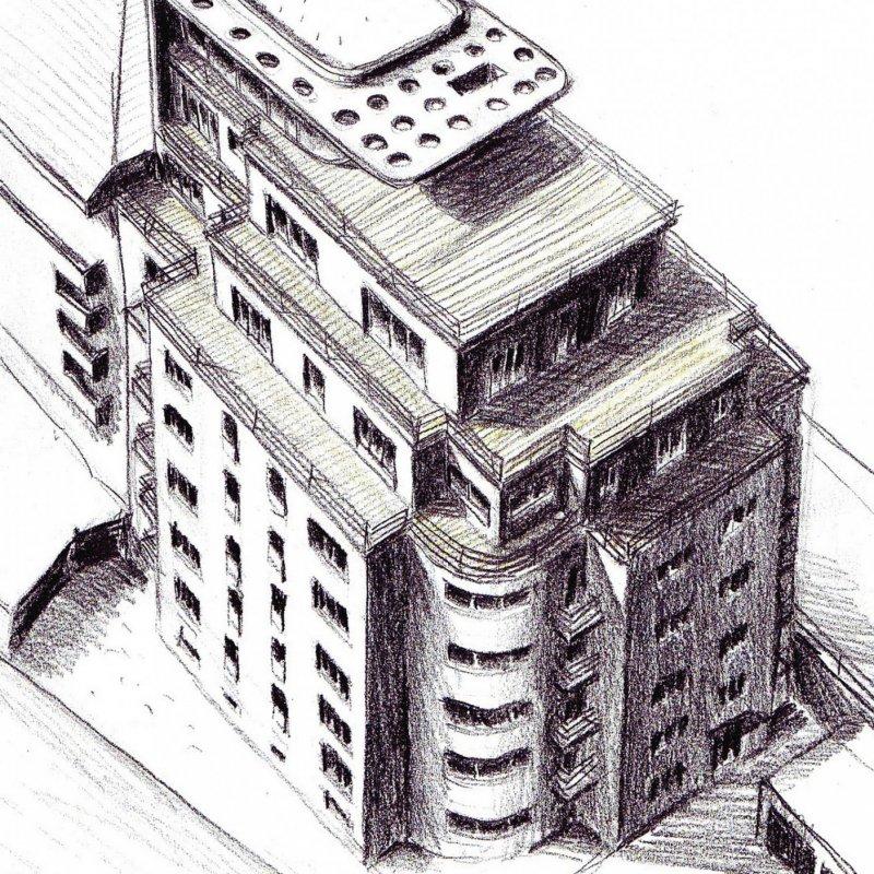 Střešní nástavba Soběslavská