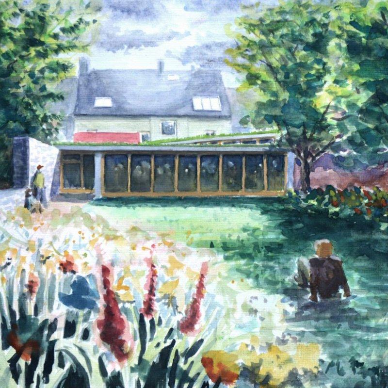 Art school in Zbiroh