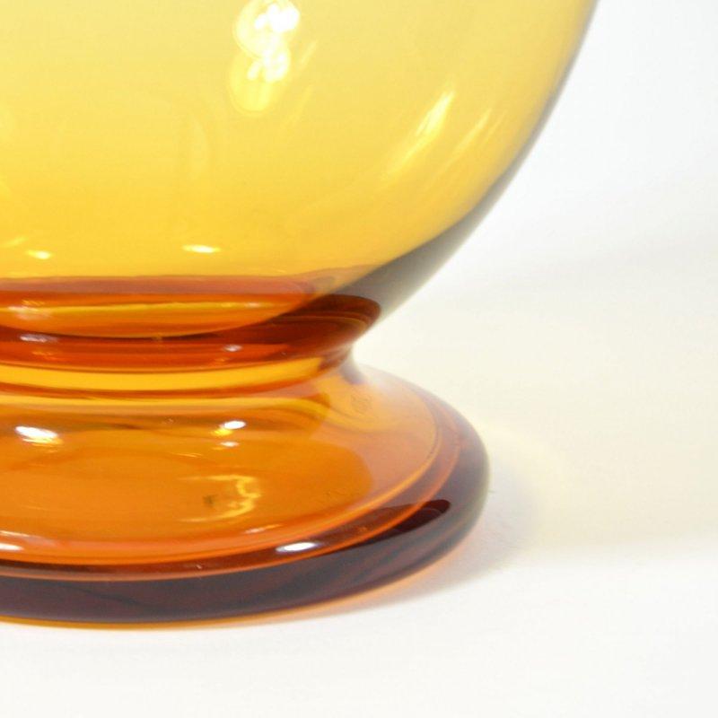 Ambrová váza Borocrystal