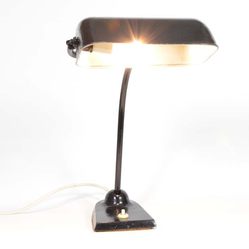 Banker´s table lamp