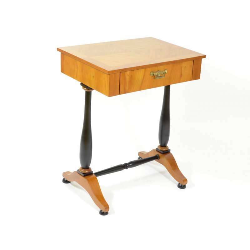 Antique Cherrywood Sewing Table