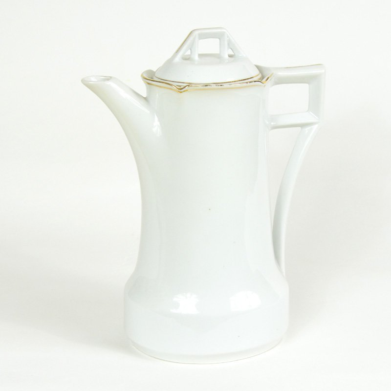 Art deco teapot