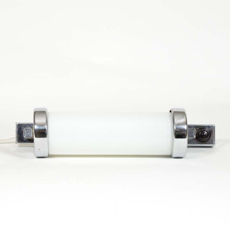 Chrome wall lamp