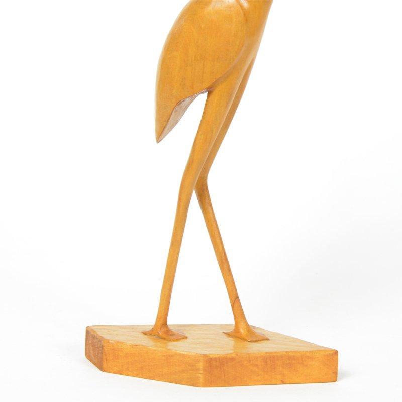 Dřevěná volavka