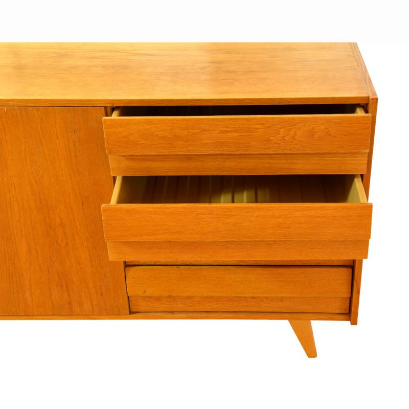 Oak ply chest of drawers