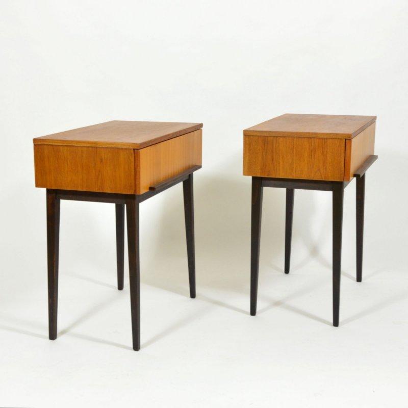 Set of bedside tables by ÚP Závody