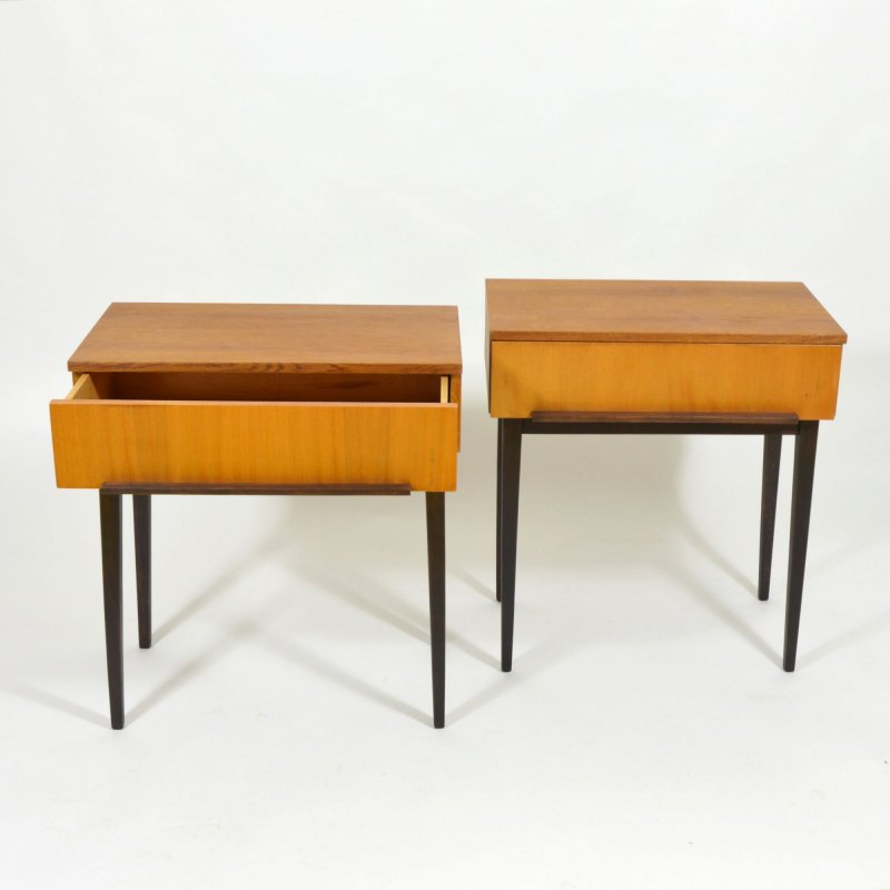 Set of bedside tables by ÚP Závody