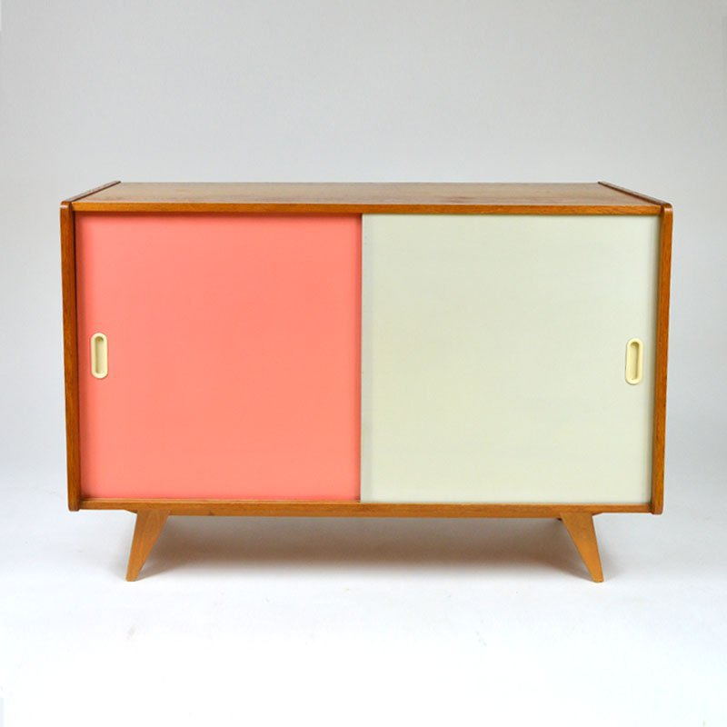Cabinet of two colours