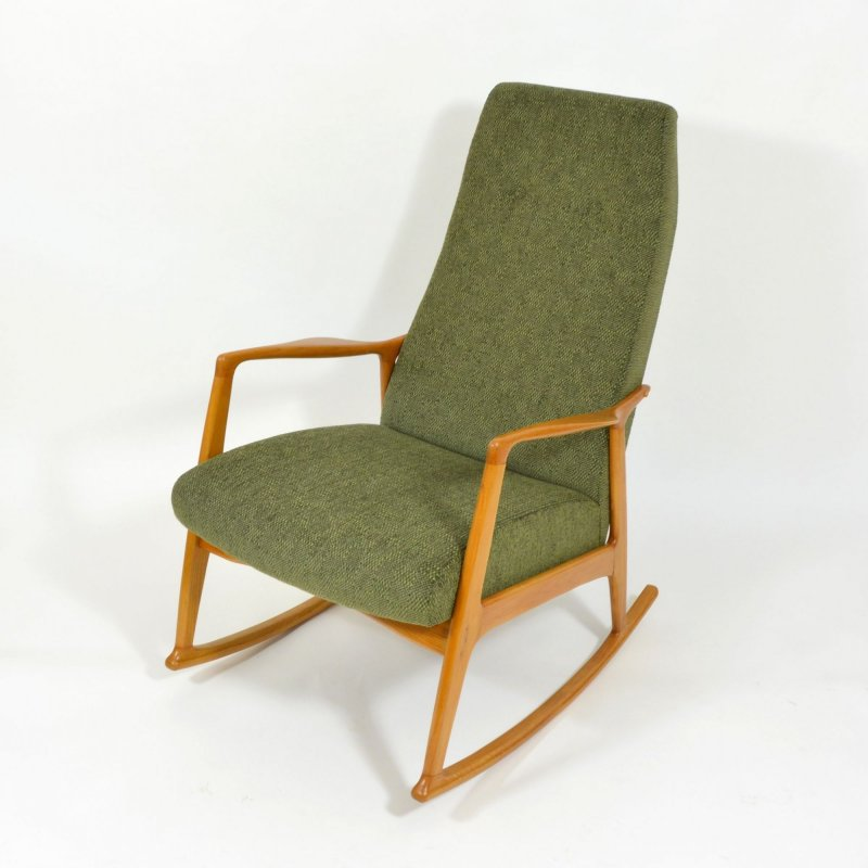 Danish rocking chair 1960s