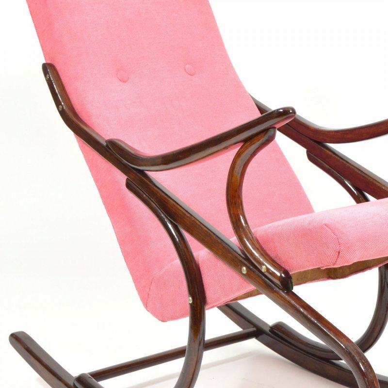 Ton rocking armchair