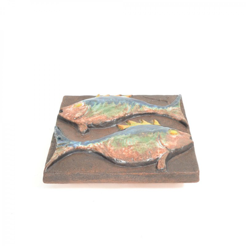 Ceramic tile pisces