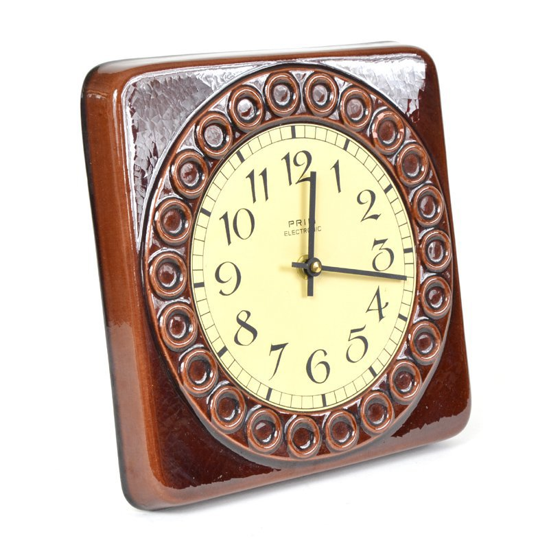 Ceramic clock PRIM