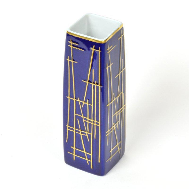 Kobaltově modrá váza