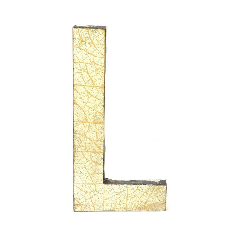 Kovové písmeno L