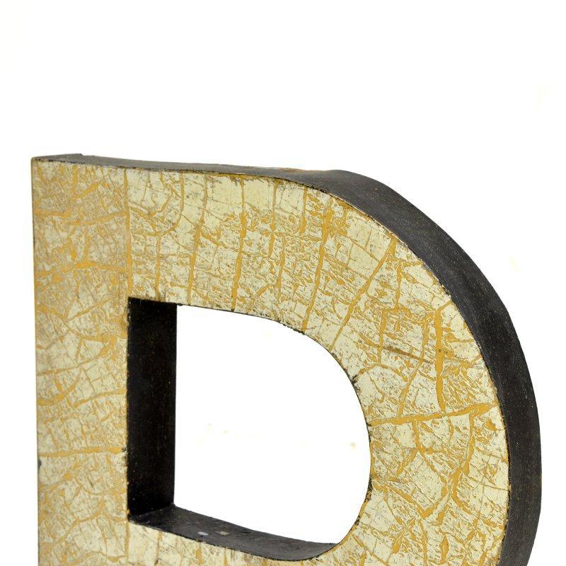 Kovové písmeno R