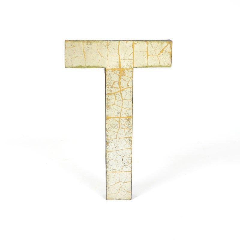 Kovové písmeno T II.
