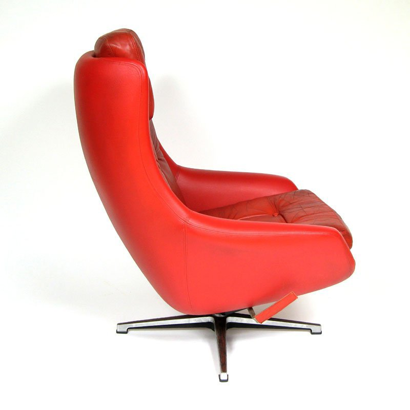 Leather armchair PEEM