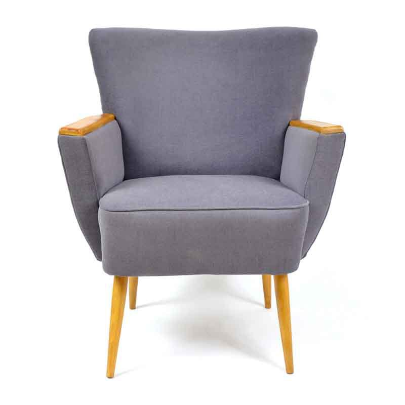 Armchair with armholders