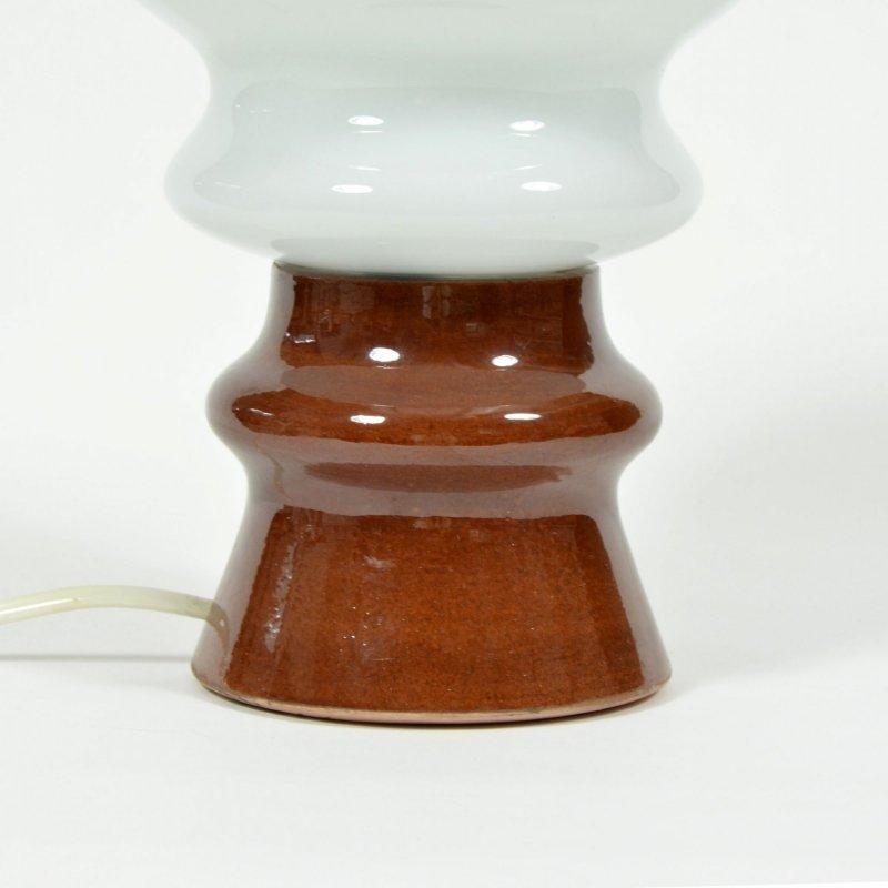 Opaline Mushroom Table Lamp