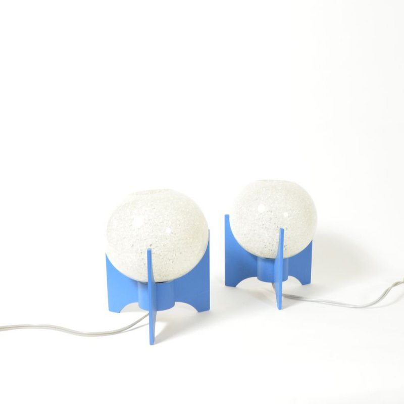 Set of bedside lamps