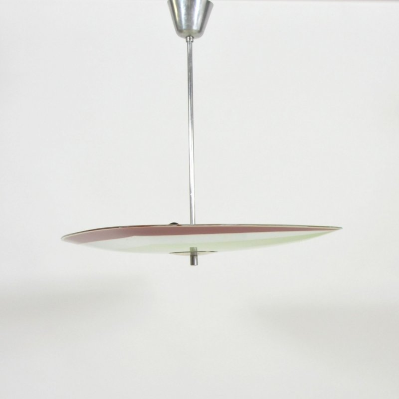 1690s Plate ceiling lamp by Napako