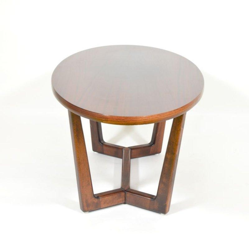Mahogany veneered coffee table