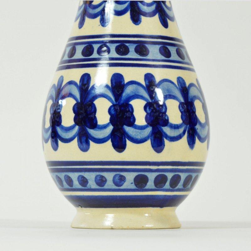 Folk decorated vase