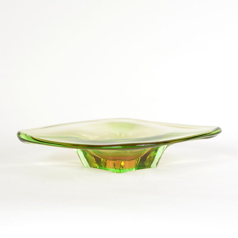 Glass candy bowl