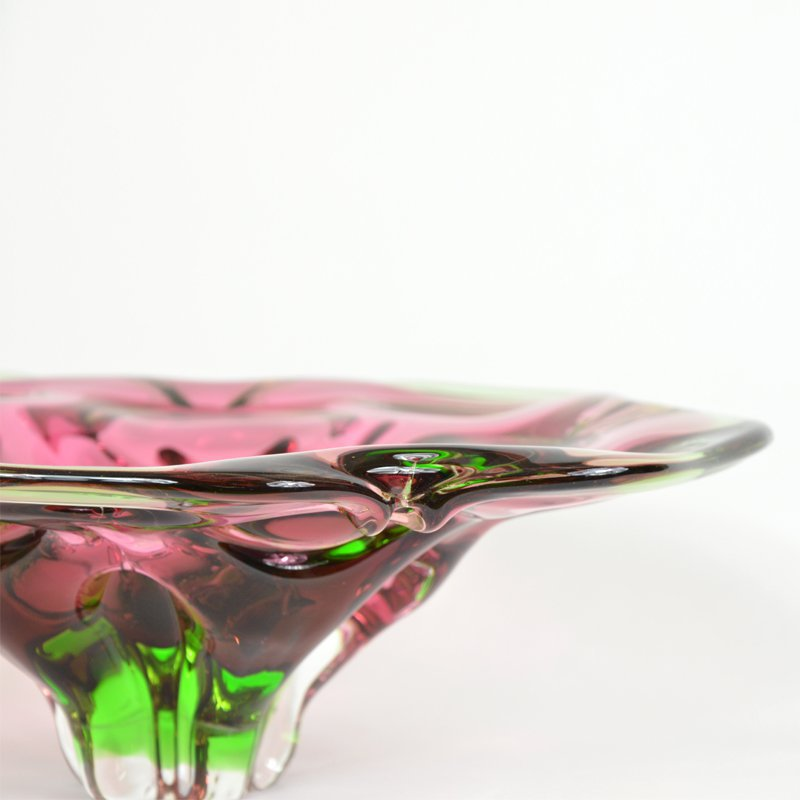 Blown glass bowl