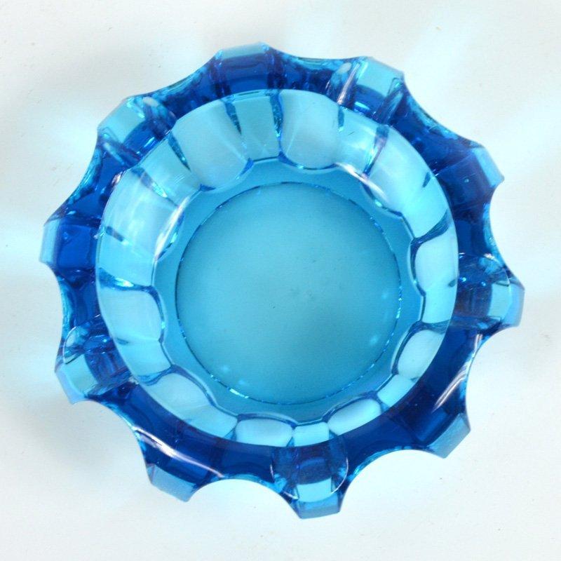 Modrý popelník