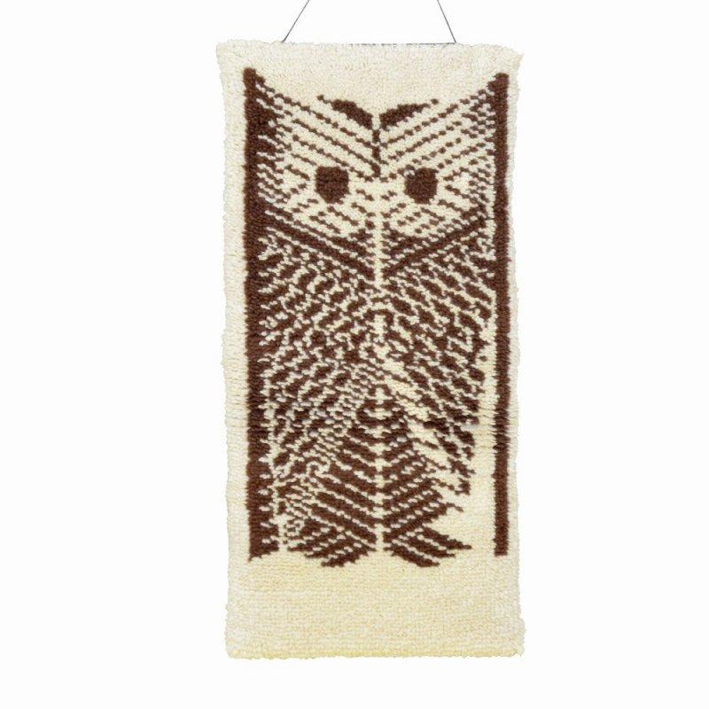 Hand made Owl rug