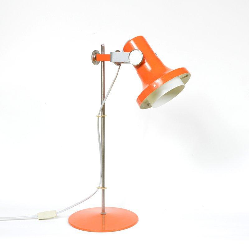 Oranžová lampa