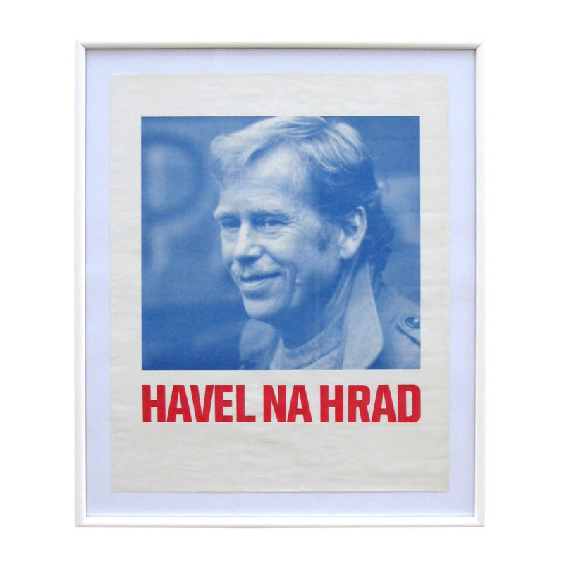 "Poster ""Havel na Hrad"""