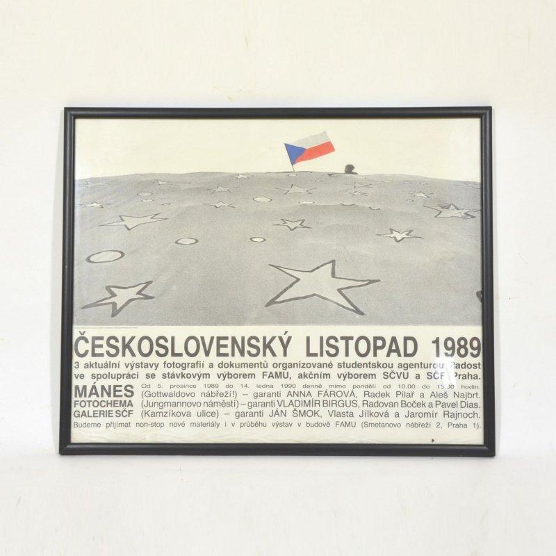 Plakát Listopad 1989