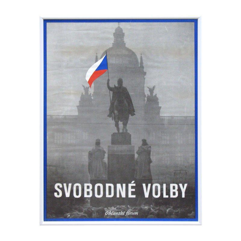 Plakát Svobodné volby