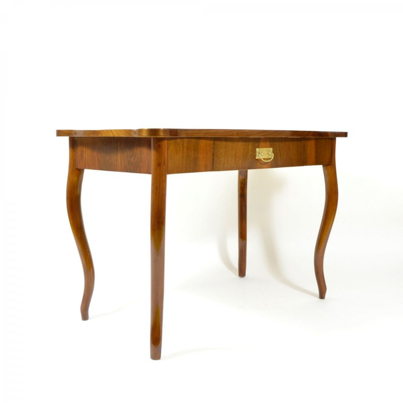 Antique writing desk with drawer