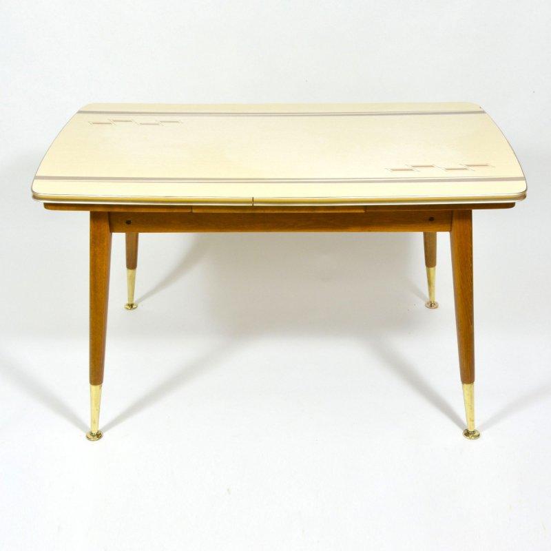 Vintage folding coffee table