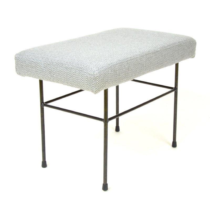 Grey tabouret