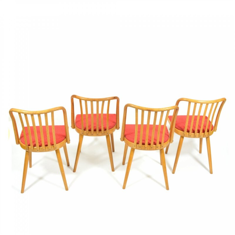 Set bukových židlí od Ant.Šumana