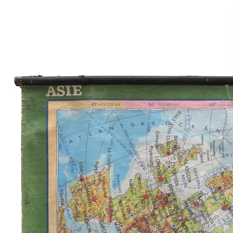 Školní mapa Asie