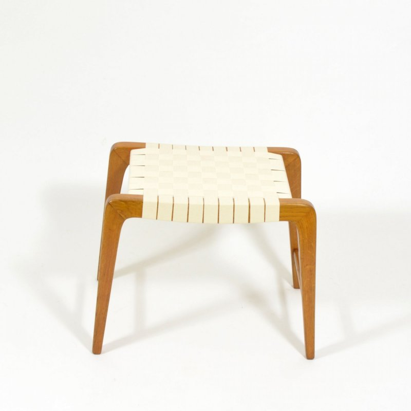 Woven beech stool