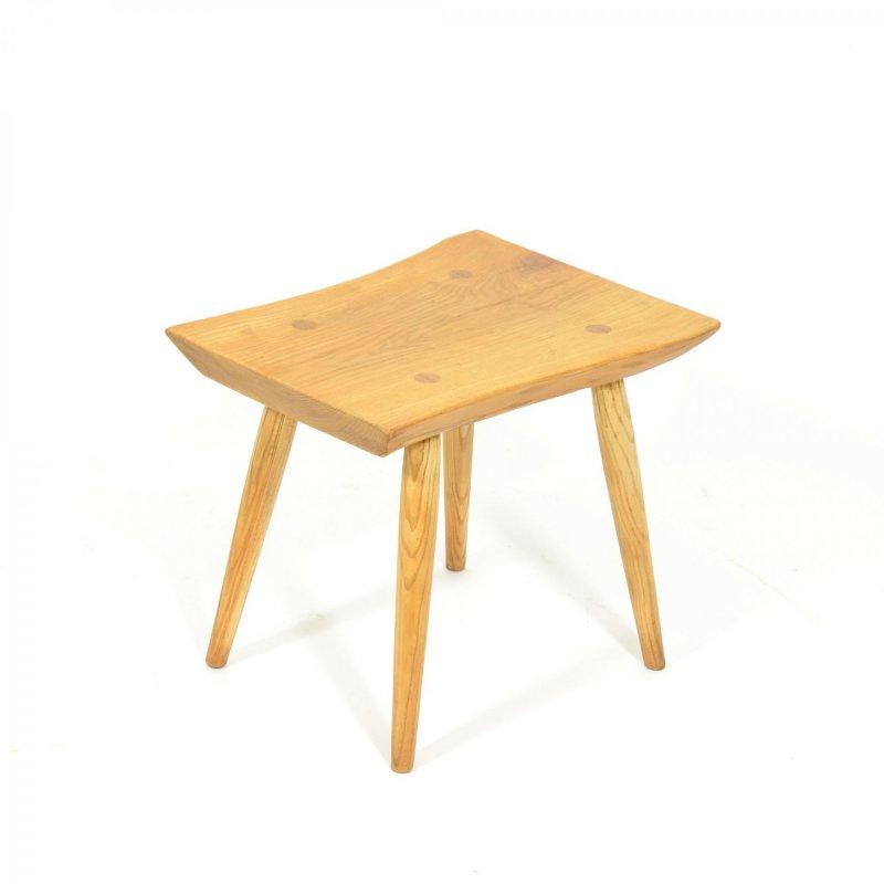 Ash wood stool