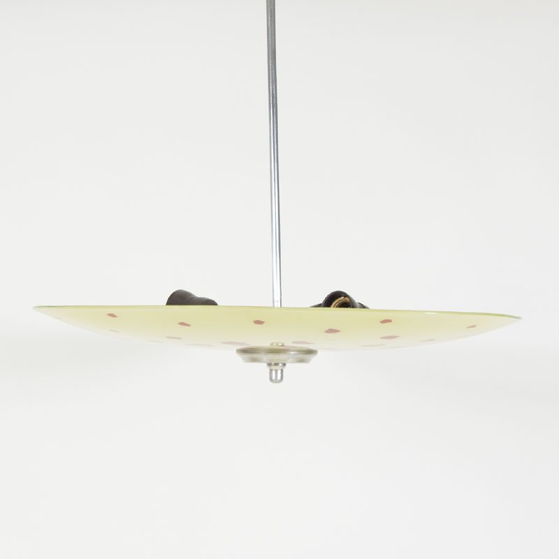 Ceiling light with prints