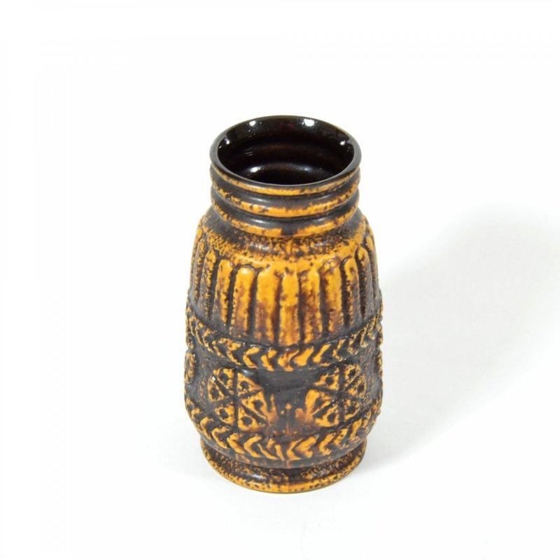 Vintage Bay Vase, West German Pottery
