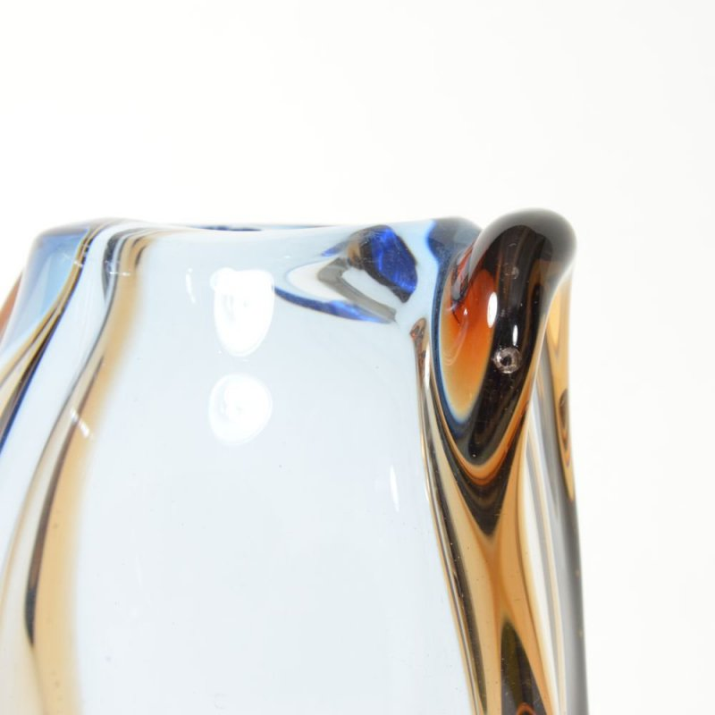 Váza hutní sklo