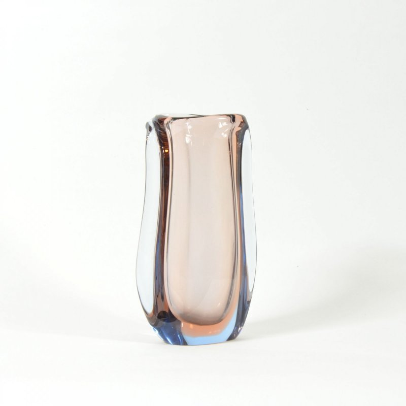 Midcentury Blown Glass Vase