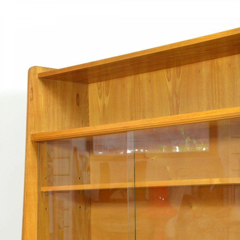 Veneered bookcase by Tatra Nábytek